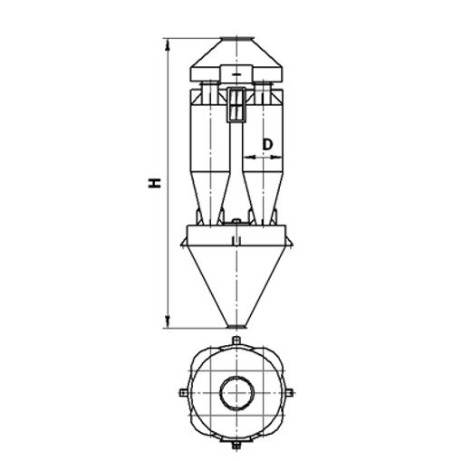Циклон СЦН-40х4
